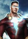 John Cena as Shazam