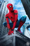 Spider-man Homecoming Poster (2002 Style)