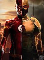 Flash/Earth-X Flash by Timetravel6000v2