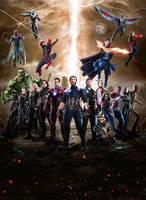 Avengers: Infinity War Poster by Timetravel6000v2