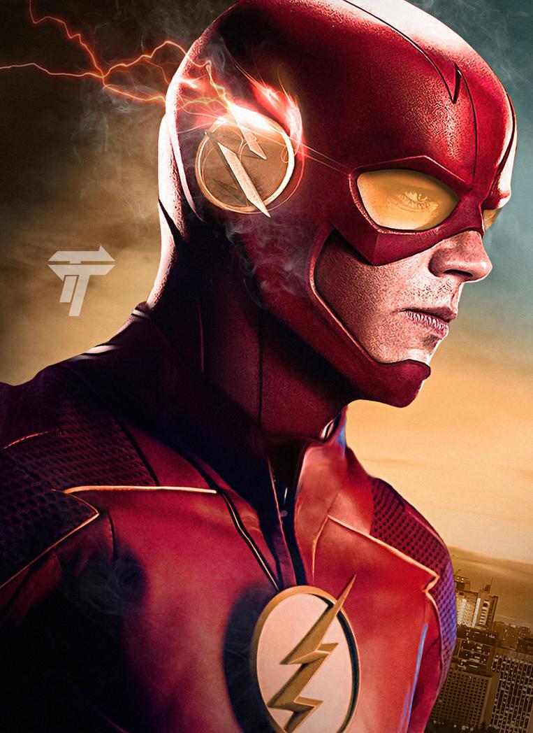 Bekend The Flash Season 4 Poster by Timetravel6000v2 on DeviantArt &IO32
