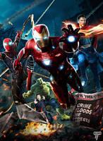 Team New York Infinity War by Timetravel6000v2