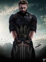 Captain America Avengers Infinity War Poster by Timetravel6000v2
