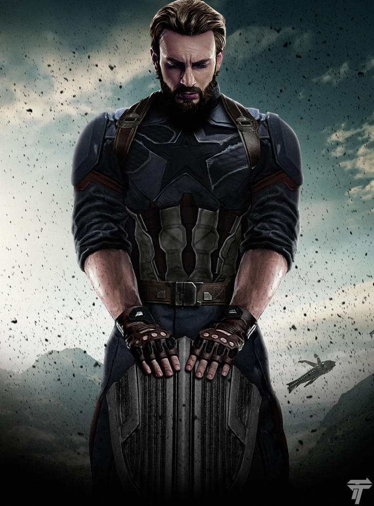 Image result for avengers infinity war poster captain america