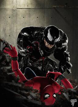 Spider-man vs Venom Version 2 by Timetravel6000v2