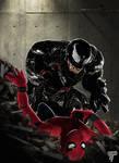Spider-man vs Venom Version 2