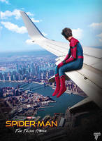 Spider-man Far From Home Teaser Poster by Timetravel6000v2