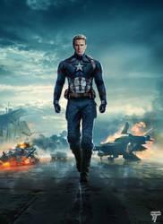 Captain America Avengers 4 by Timetravel6000v2