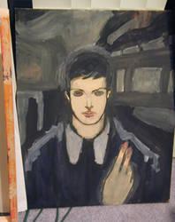 My nod to Edvard Munch by tdiaz