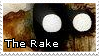 The Rake stamp