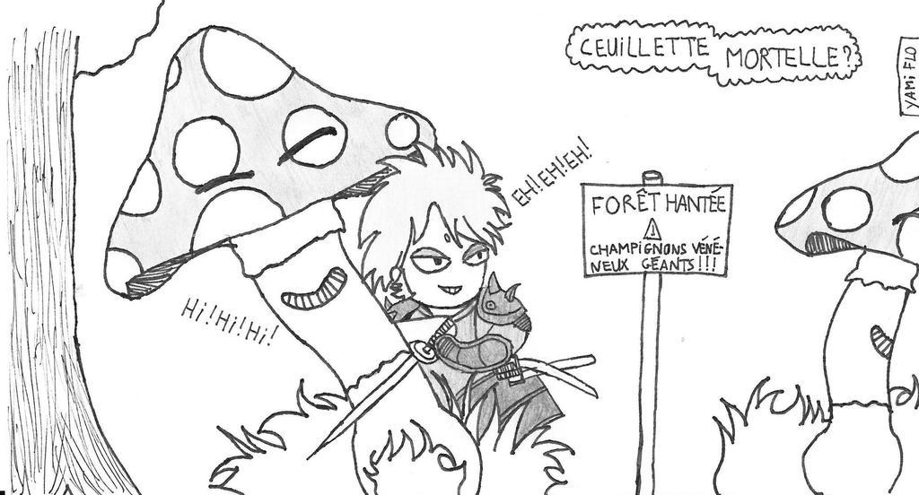 Cueillette Mortelle? by yami-samuraiflo