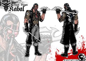 Black Dragon Kabal Evolution by W-Orks