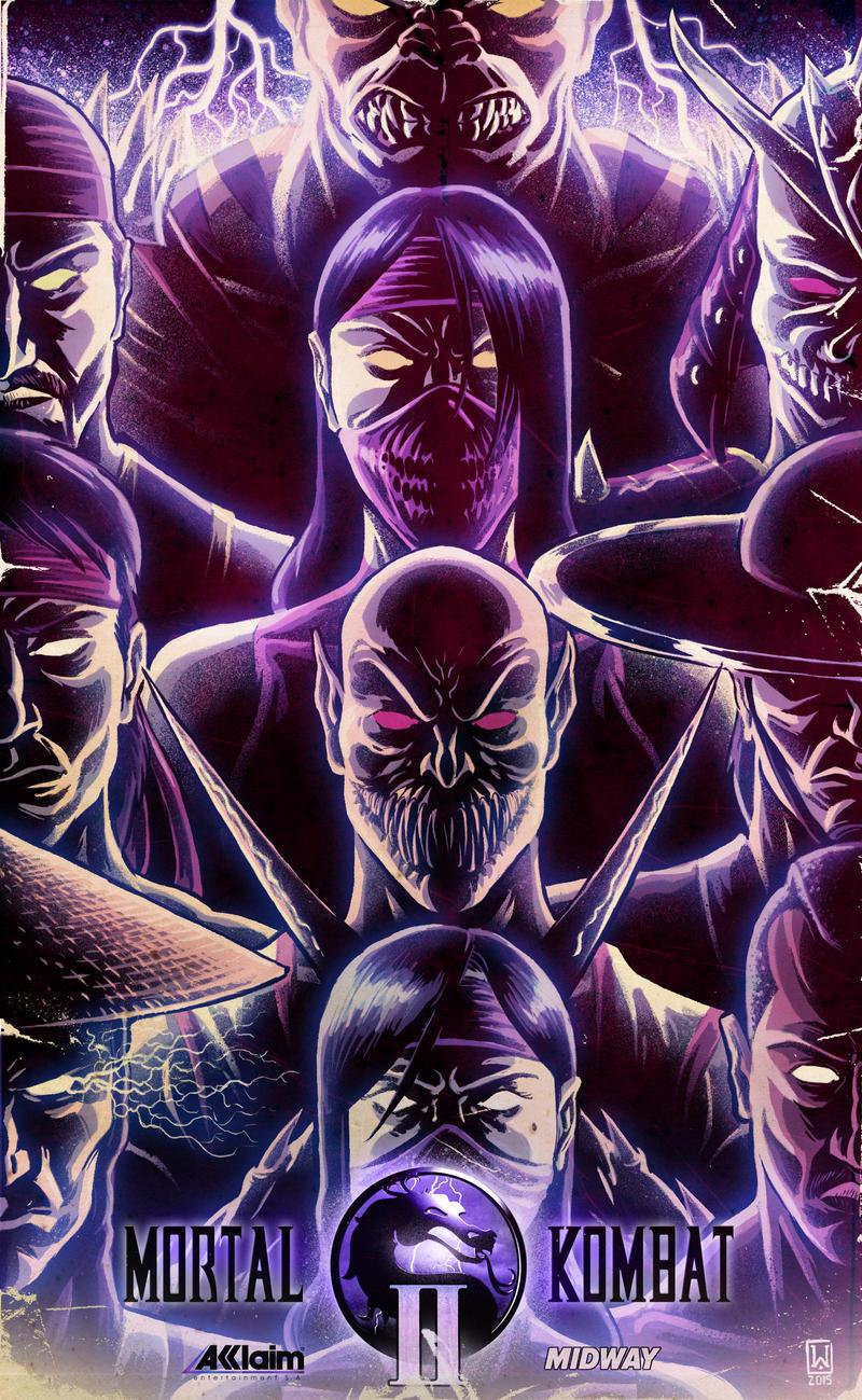 Mortal Kombat 2 poster