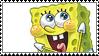 stamp- spongebob by giraffesinbowties
