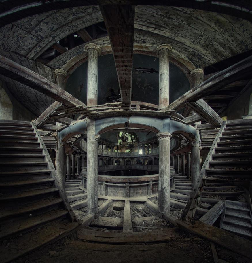 dust temple by Art-de-Viant