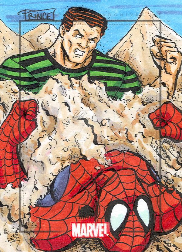 Sandman vs Spider-man by Budprince on DeviantArt