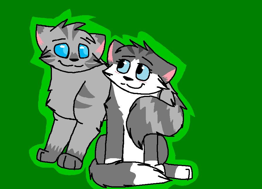 Willowshine and Jayfeather by Shadowtiger50 on DeviantArt Willowshine Warriors