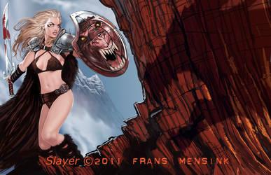 DragonSlayer by FransMensinkArtist