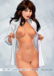 Shirtless by FransMensinkArtist
