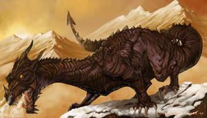 Dragon-No beauty, just beast