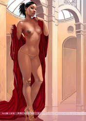 Nubian Princess 3 by FransMensinkArtist