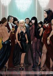 Vampire Party by FransMensinkArtist
