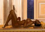 Nubian Bedroom by FransMensinkArtist