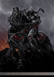 Dark Knight by FransMensinkArtist