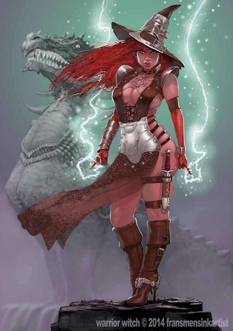WarriorWITCH by FransMensinkArtist