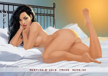 Resting by FransMensinkArtist