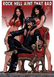 Lemmy by FransMensinkArtist
