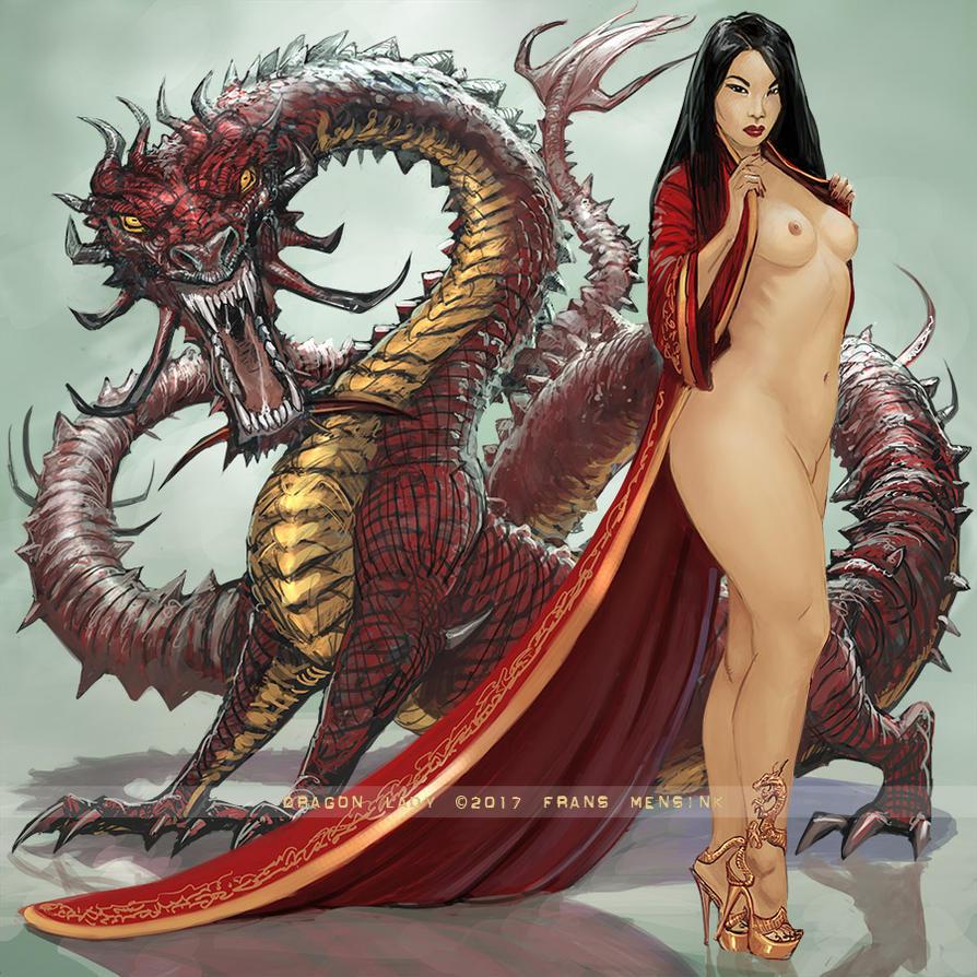 Dragon Lady by FransMensinkArtist