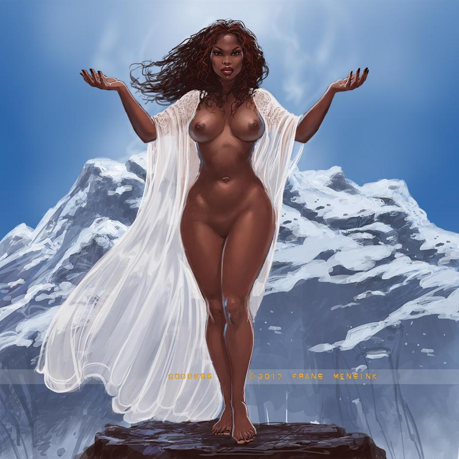 Goddess by FransMensinkArtist