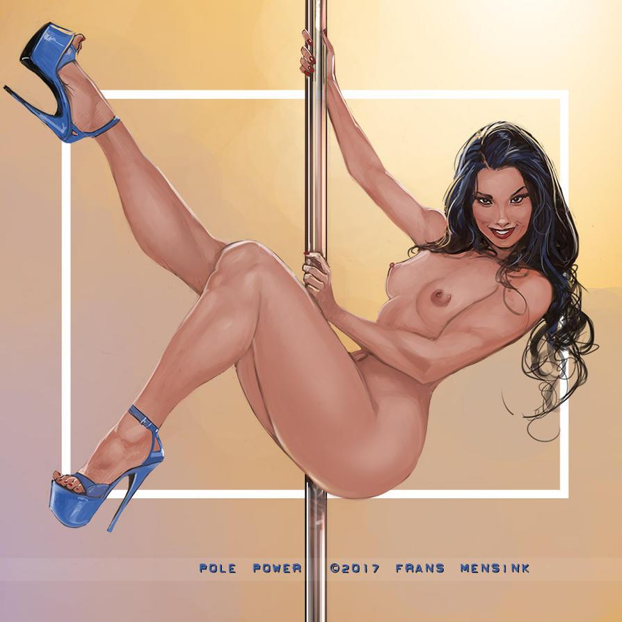 pole power by FransMensinkArtist