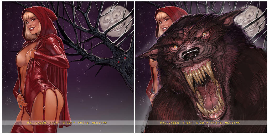Red Ridinghood by FransMensinkArtist