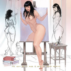New Betty Page by FransMensinkArtist