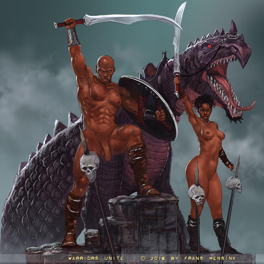 More warriors by FransMensinkArtist