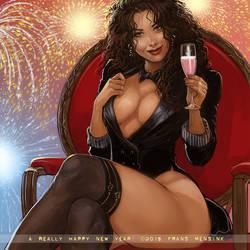 Happy New Year! by FransMensinkArtist
