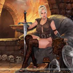 Viking Warrior by FransMensinkArtist