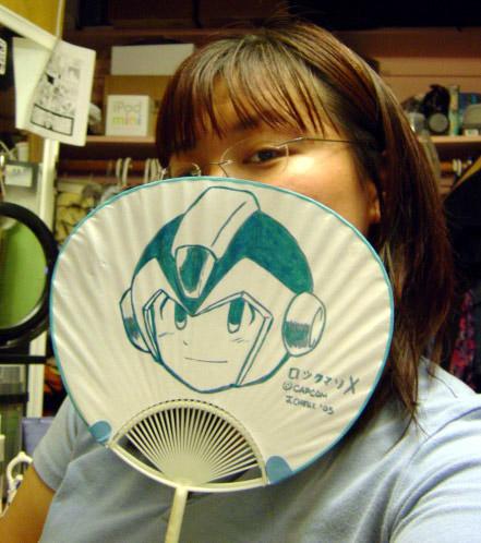 Rockman X Fan by ayabrea