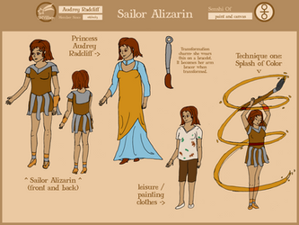 Sailor Alizarin SMV Reference sheet