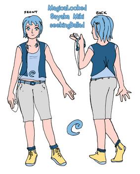 MagicaLocked Profile: Casual Sayaka
