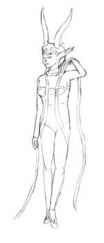 Meenah Peixes-sketch