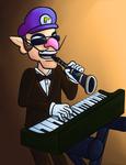 Waluigi Playing Both the Piano and Clarinet