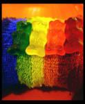 Gummy Rainbow Bears by PreciousNothin