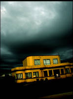 Scary Yellow House by PreciousNothin