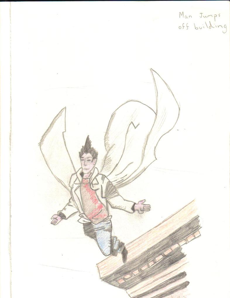 Peter Petrelli Flies by Mr-Saxon