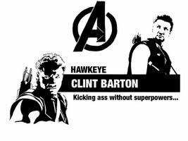 Avengers - Clint Barton by Mr-Saxon