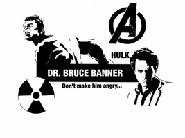 Avengers - Dr Bruce Banner by Mr-Saxon