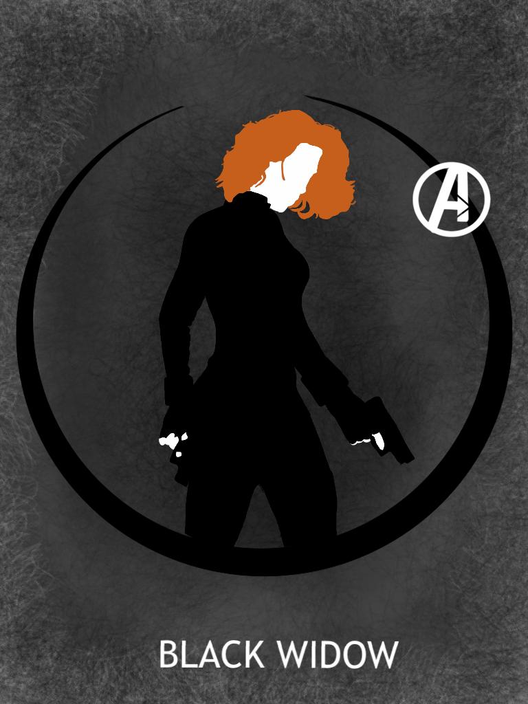 Black Widow Poster By Mr Saxon On Deviantart